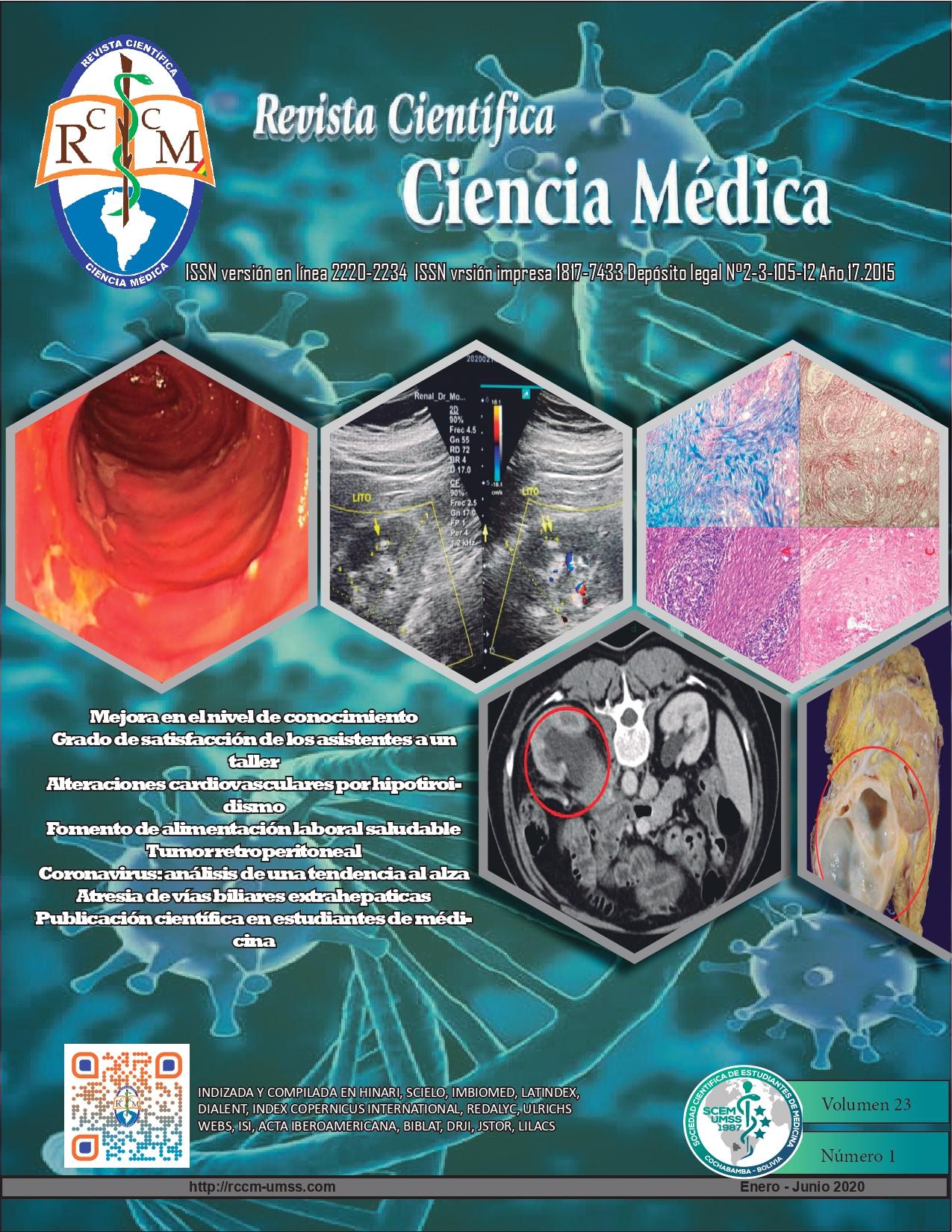 Ver Vol. 23 Núm. 1 (2020): Revista Científica Ciencia Medica