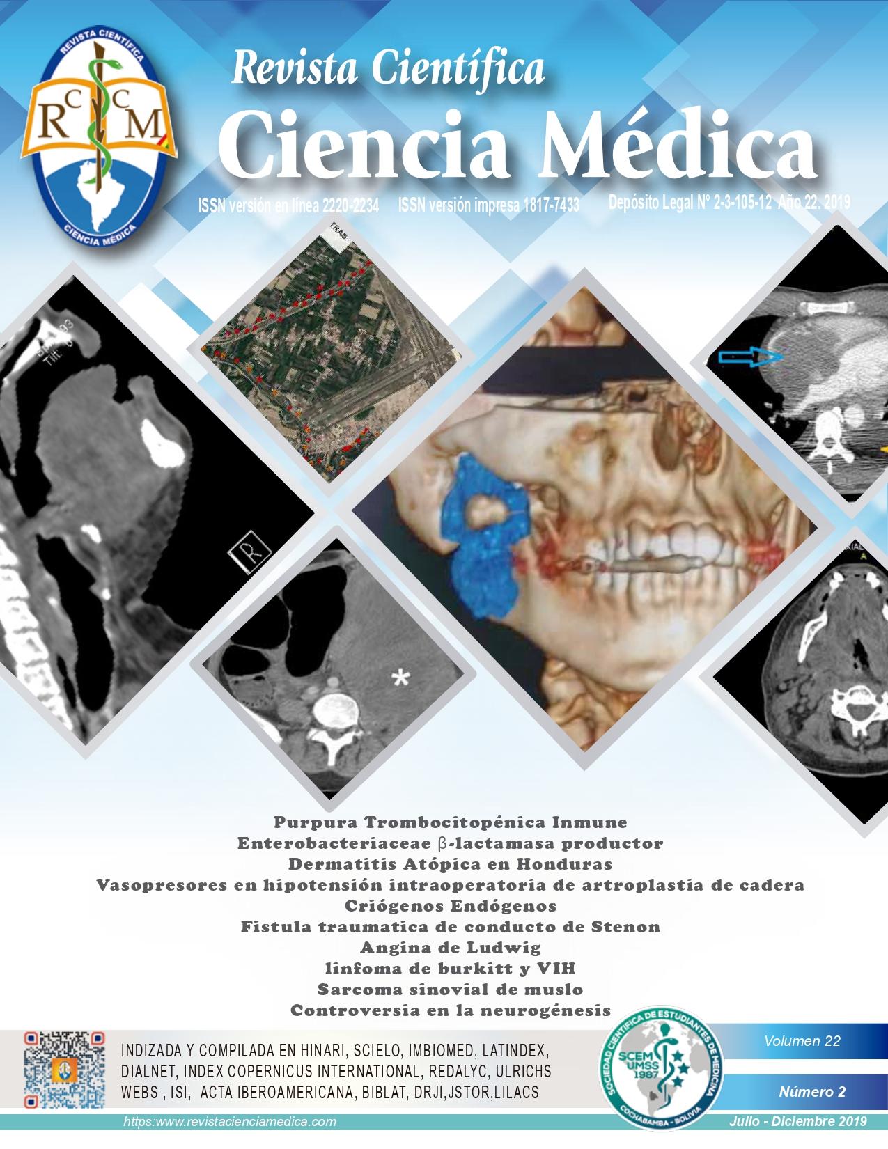 Ver Vol. 22 Núm. 2 (2019): Revista Científica Ciencia Médica